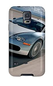 Anti-scratch And Shatterproof Bugatti Veyron 3 Phone Case For Galaxy S5/ High Quality Tpu Case