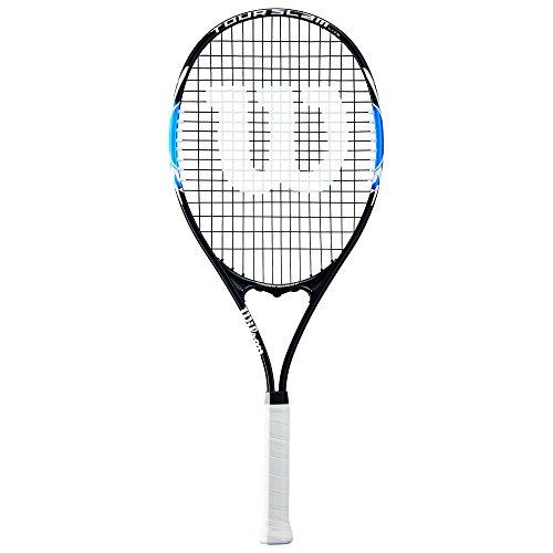 Wilson Tour Slam Lite Tennis Racket, 4 3/8'' - Black/Blue by Wilson (Image #1)
