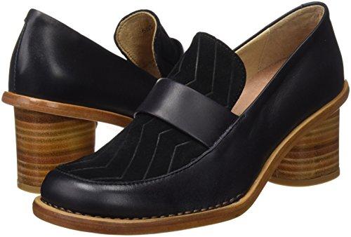 S567 Para Neosens Ebony Tacón Con ebony Zapatos Negro Punta Mujer De Restored debina Vesubio Cerrada d1RaPW1