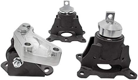 04-08 Acura Tl J-Series Steel Mounts 75A Innovative Mounts 10750-75A Black Bushings