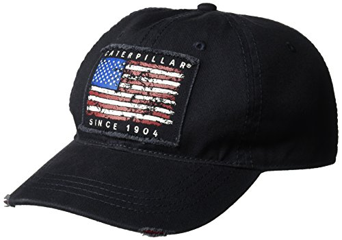 Caterpillar Men's Americana Cap, Navy, One Size