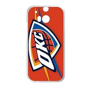Oklahoma City Thunder Logo Phone Case for HTC One M8