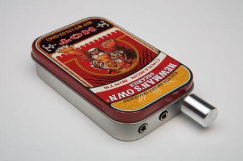 Audiophile CMOY headphone amplifier USA made with high quality parts-Newman's Tiger Tin - Op Amp Headphone Amplifier