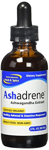 North American Herb & Spice Ashadrene Capsules, 2 Ounce