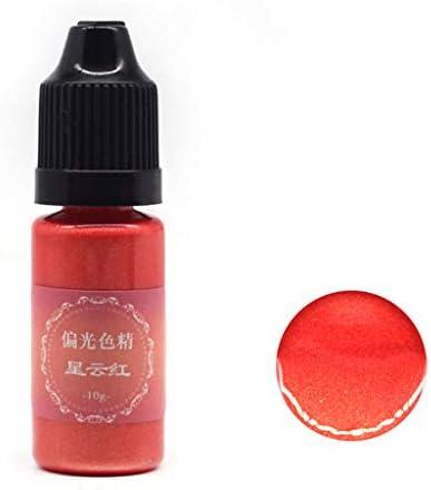 shanghaisty 1 Flasche 10 g Jizhuguang polarisierende Harz-Pigmentfarbe DIY Kristall Epoxy Färben Schmuck Herstellung Pigment 11