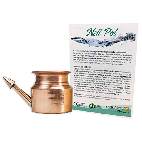 Health & Beauty Neti Pot Copper For Sinus Irrigation Neti Pots & Cleansers
