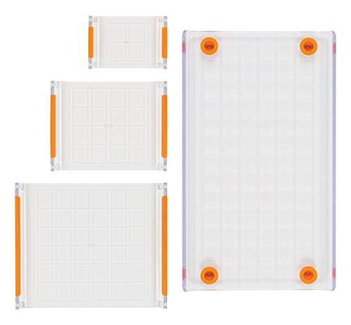 Fiskars Crafts 106150-1001 4 Piece Stamp Block Set