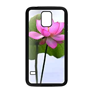 Beautiful lotus Brand New Cover Case with Hard Shell Protection for SamSung Galaxy S5 I9600 Case lxa#892377