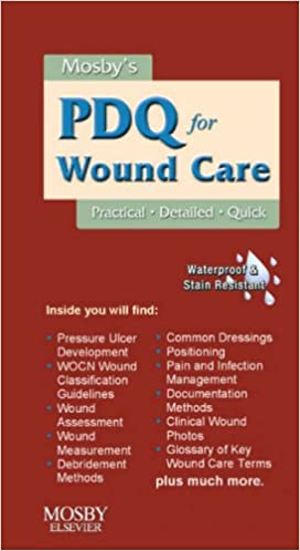 mosbys pdq for wound care