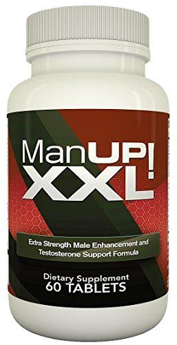 MANUP! XXL - Лучшие Мужской Аксессуар - повышения тестостерона естественное травяное дополнение для мужчин - 60 таблеток / Pills