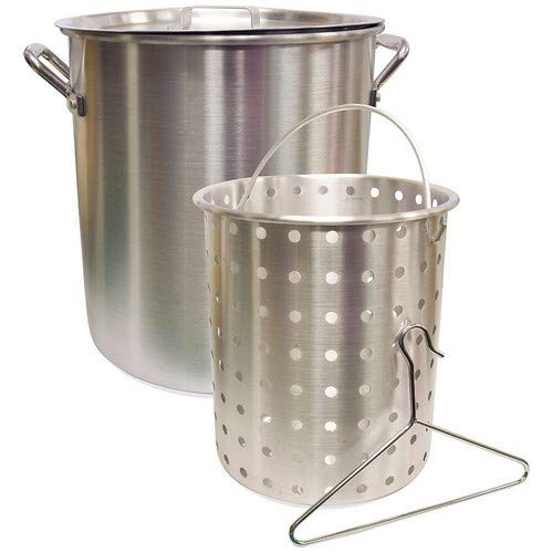 (Camp Chef 42 Quart Aluminum Fry Pot & Basket)