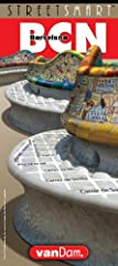 VanDam's 2019 StreetSmart Barcelona maps all top attractions including, museums, churches, city beaches, hotels, theaters, major architecture and more at an immensely legible scale of 1:19,000 complete with a 3-D building illustrations. Clear...