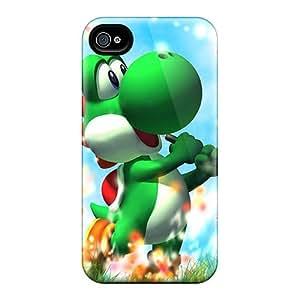 ErleneRobinson Iphone 6 Protective Hard Phone Case Allow Personal Design Vivid Yoshi Image [DMx4145ZODh]
