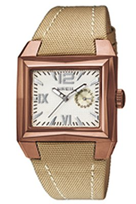 Breil BW0258 Ladies Ergo Cream Dial Beige Strap Watch