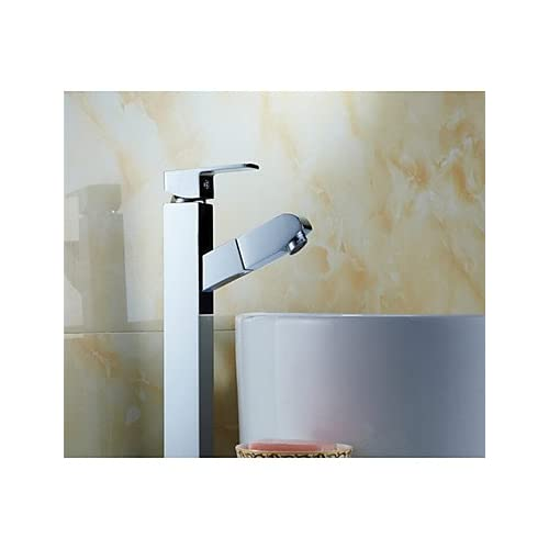 outlet W&P With Hot And Cold Shower, Copper Pull Type Faucet