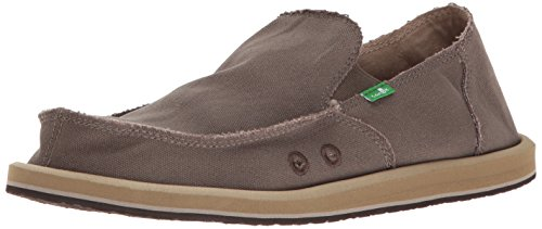 - Sanuk Men's Vagabond Slip On, Brindle, 13 M US