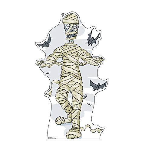 Advanced Graphics Cartoon Mummy & Bats Life Size Cardboard Cutout Standup]()