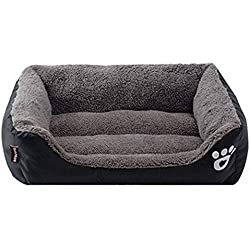 EOFK Dogs Bed for Small Medium Large Dogs Pet House Waterproof Bottom Soft M House Cat Dog Bed 11 Colors S-3Xl Teen Must Haves Girl S Favourite Superhero Stickers UNbox Love