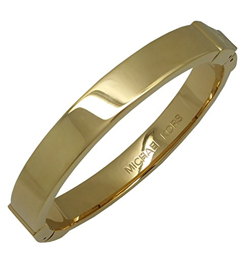 Michael Kors MKJ1047 Jet Set Gold Bangle Bracelet Jet Gold Bracelets