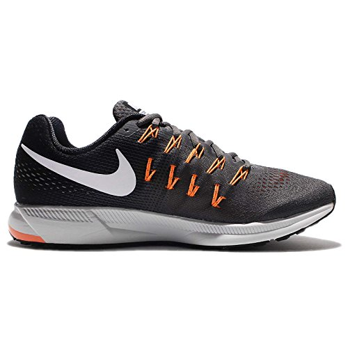 Nike 831352-003, Zapatillas de Trail Running para Hombre Gris (Dark Grey / White-Black-Bright Citrus)