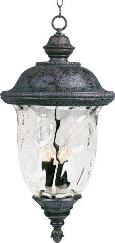 Maxim Lighting 40428WGOB Lantern Carriage House VX 3-Light Outdoor Hanging LAN