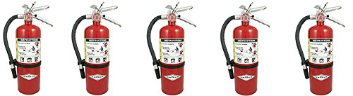Amerex B500, 5lb ABC Dry Chemical Class A B C Fire Extinguisher (5)