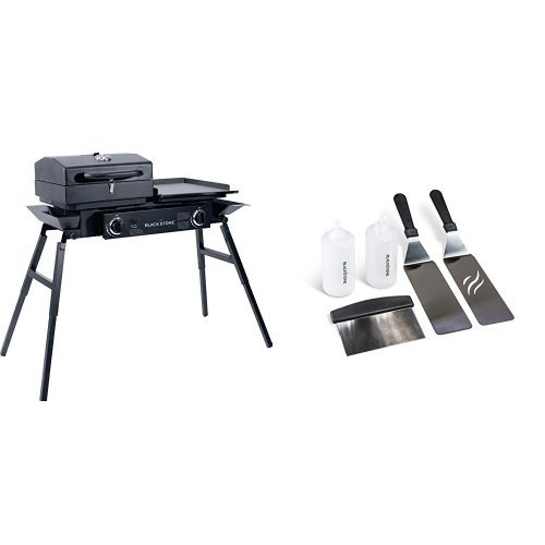 Blackstone Tailgater Portable Gas Grill and Griddle Combo...