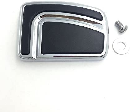 Chrom Gro/ße Airflow Groove Bremspedal-Pedal-Pad f/ür Harley Davidson 12-later FLD 86 sp/äter FL Softail 80 later Touring 08 later Trike Road King Street Glide NBX