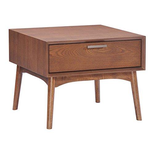 Table Modern Side Zuo (Zuo Design District Side Table, Walnut)