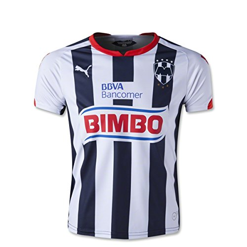Maglia Soccer Replica: Monterrey Youth Home Replica Soccer Jersey 14/15 YXL
