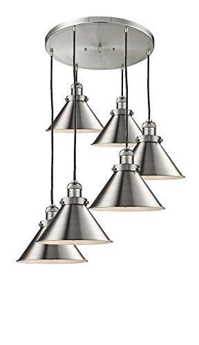 (Innovations Lighting 212/6-SN-M10 Six Light Pendant)