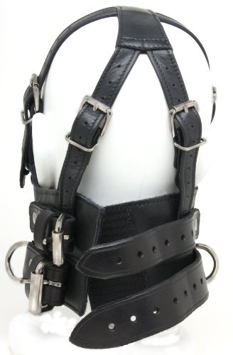 Amazon.com: Mr-S-Leather Bishop Head Harness - 's: Health ...