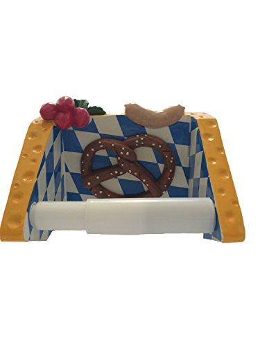 Home-supplies Paper Towel Rack Holder - Foods Figurine Decor