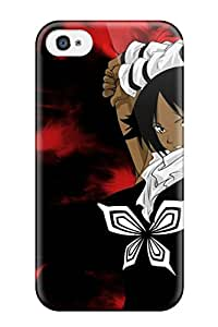 Iphone 4/4s Hard Back With Bumper Silicone Gel Tpu Case Cover Bleachs By Valvado