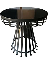 pangaea home and garden flat iron base side table