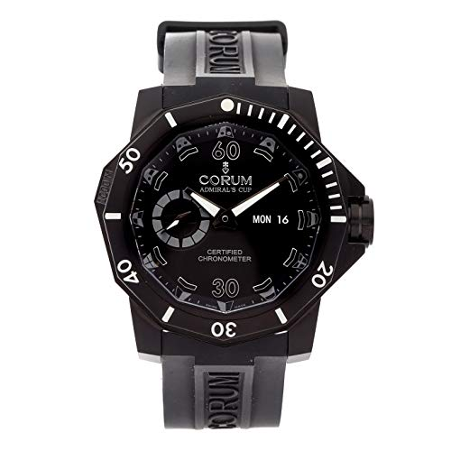 Chronograph Admirals Cup - Corum Admiral's Cup Mechanical (Automatic) Black Dial Mens Watch 947.950.94/0371.AN22 (Certified Pre-Owned)