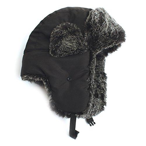 City Hunter W200n Original Solid Trapper Ski Hat