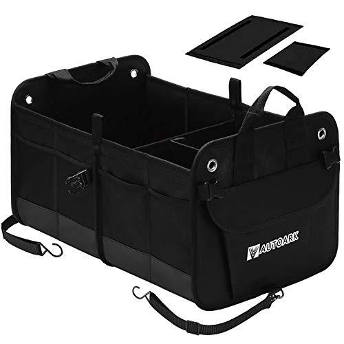 AUTOARK Multipurpose Car SUV Trunk Organizer,Durable Collapsible Adjustable Compartments Cargo Storage,AK-102