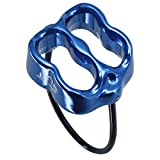 NewDoar Safety Abseiling Belay Rappelling Device for Climbing Blue