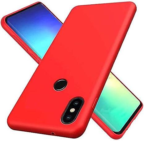 EuCase Funda Xiaomi Redmi S2 Silicona,Carcasa Xiaomi Redmi Y2 L/íquido Silicona con Suave Almohadilla de Forro de Tela de Microfibra Protecci/ón contra Ca/ídas Anti-Rasgu/ño Cover P/úrpura