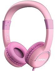 Mpow Casque Audio Enfant Casque Audio Enfants CH1S avec 85 DB Volume Limité Protection de l'Ouïe & Fonction de Partage de Musique, Volume et Contrôle de Mic, Matériau de Qualité Alimentaire Sûr