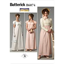 Butterick Patterns B6074 Misses' Dress, Jacket, Purse and Hat Trim Sewing Template, Size E5 (14-16-18-20-22)