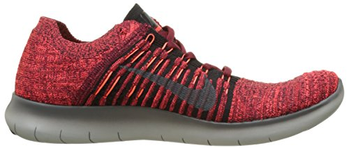 2017 Nike Red Dark Crimson Grey Shoe Black RN Running Flyknit Team Free Total Men's HWqnWSwAg