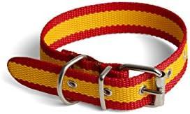 Collar Bandera España para Perro 3x50cm: Amazon.es: Deportes y ...