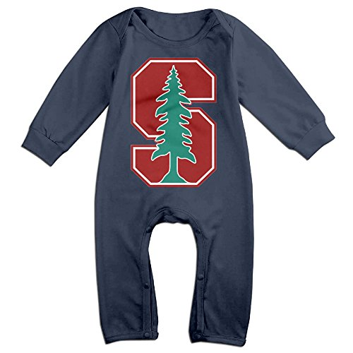 Price comparison product image Z-Jane Stanford University NewBorn Boy's & Girl's Long Sleeve Bodysuit Outfits Navy 6 M