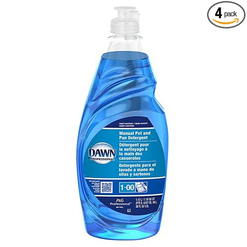 Amazon.com: Dawn Professional Dishwashing Liquid 38Oz Manual Pot & Pan 4-Pack: Health & Personal Care