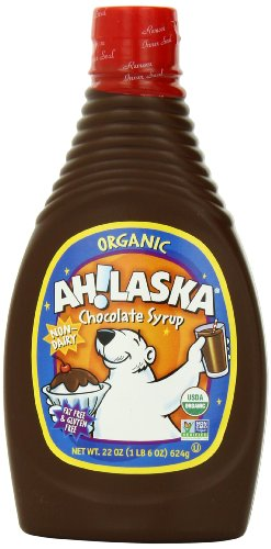 AH!LASKA Organic Chocolate Syrup, 22 Ounce (Pack of ()