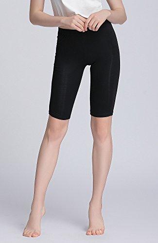 Vinconie Legging Court Femme Dentelle Culotte Sécurité Legging Short sous Jupe