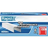 Rapid High Performance Staples, No.53, Leg Length 6 mm, 11856250 - 5000 Pieces