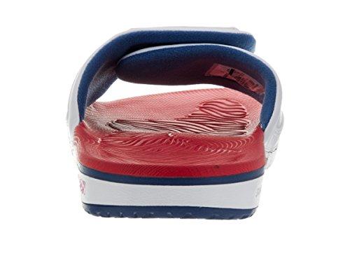 Nike Jordan Herren Jordan Hydro 4 Sandale Weiß / Feuerrot / True Blue